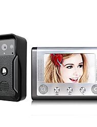 Недорогие -Mountainone sy813fkid11 проводной&усилитель, усилитель; Беспроводной встроенный динамик 7-дюймовый громкой связи видеодомофон