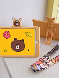 cheap -Case For Apple iPad Air / iPad 4/3/2 / iPad Mini 3/2/1 Child Safe Case Back Cover Animal / Cartoon Silica Gel