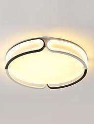 cheap -1-Light 55 cm Adorable Flush Mount Lights Aluminum Electroplated LED / Nordic Style 110-120V / 220-240V / VDE