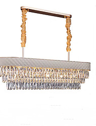 cheap -QIHengZhaoMing 10-Light 35 cm Chandelier Metal Electroplated Modern 110-120V / 220-240V