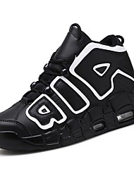 cheap -Men's Comfort Shoes Synthetics Fall Athletic Shoes Basketball Shoes Black / White