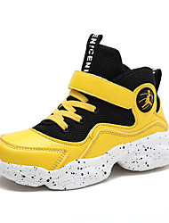 abordables -Garçon Confort Polyuréthane Chaussures d'Athlétisme Grands enfants (7 ans et +) Marche Noir / Jaune / Rouge Automne