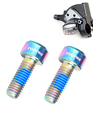 cheap -Screws For Road Bike / Mountain Bike MTB Titanium Alloy Anti-Slip / High Strength / Easy to Install Cycling Bicycle Gold Blue Grey
