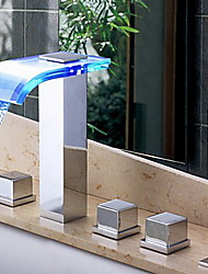 cheap -Bathtub Faucet Chrome Other Ceramic Valve Bath Shower Mixer Taps