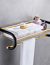 cheap -Towel Bar New Design / Cool Modern Aluminum 1pc Double Wall Mounted