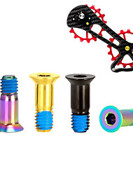 cheap -Screws For Road Bike / Mountain Bike MTB Titanium High Strength / Durable / Easy to Install Cycling Bicycle Black Gold Camouflage
