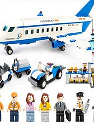 abordables -GUDI GUDI8912 Figurines d'Action Blocs de Construction Blocs Militaires Avion Machine Aéroport compatible Legoing Cool Chic & Moderne Dessin Animé Garçon Fille Jouet Cadeau / Jouet Educatif