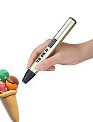 Недорогие -3d печатная ручка развивающие творческие игрушки граффити трехмерные низкотемпературные 3d детские кисти дизайн ручки
