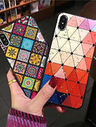 cheap -Case For Apple iPhone 11 / iPhone 11 Pro / iPhone 11 Pro Max Pattern / Glitter Shine Back Cover Geometric Pattern / Glitter Shine PC