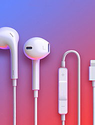 cheap -For IPhone In Ear Stereo Headphones with Microphone Wired Bluetooth Earphone for IPhone 8 7 Plus X XR XS Max 10 Headset