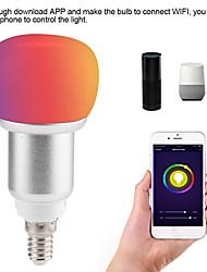 cheap -1pc 10 W LED Globe Bulbs LED Smart Bulbs 700 lm E14 B22 E26 / E27 12 LED Beads APP Control Smart Timing Multi-colors 85-265 V
