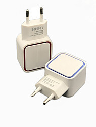 cheap -Universal 5V 1A LED Dual USB Wall Charger Home Travel Adapter Fast Charging EU US Plug For iphone Samsung Xiaomi Huawei J25