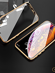 cheap -Case For Apple iPhone 11 / iPhone 11 Pro / iPhone 11 Pro Max Shockproof / Transparent Full Body Cases / Bumper Transparent Tempered Glass
