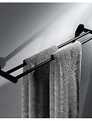 cheap -Towel Bar Multifunction Contemporary Stainless Steel 1pc Double Wall Mounted