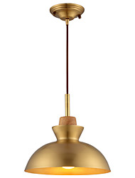 cheap -1-Light HEDUO 25 cm Adorable Pendant Light Copper Electroplated Nature Inspired / Traditional / Classic 110-120V / 220-240V