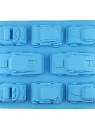 Недорогие -3d мультфильм автомобиль формы силиконовые формы мусс мороженое шоколадные конфеты кондитерские изделия десерт формы для выпечки инструменты для украшения торта