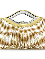 cheap -Women's Sequin / Hollow-out Alloy Evening Bag Black / Gold / Silver