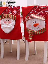 cheap -Chair Sash Cloth 1 Piece Christmas
