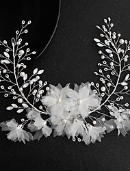 cheap -Cubic Zirconia / Alloy Headbands with Rhinestone / Imitation Pearl / Crystals 1pc Wedding / Party / Evening Headpiece