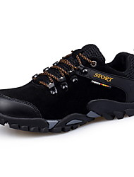 cheap -Men's Comfort Shoes PU Fall & Winter Athletic Shoes Hiking Shoes Color Block Black / Yellow / Blue