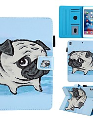 cheap -Case For Apple iPad Air / iPad 4/3/2 / iPad (2018) Card Holder / with Stand / Pattern Full Body Cases Dog PU Leather