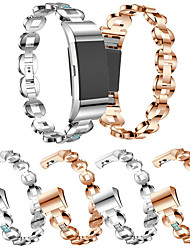 cheap -Watch Band for Fitbit Charge2 Replacement Metal Bracelet Adjustable Fitbit Charge 2 Bands Bling Rhinestone