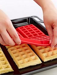 Недорогие -Вафельный торт с 4 полостями шоколадный противень силиконовые формы выпечки формы для выпечки кухня выпечка кондитерские инструменты