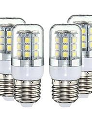 cheap -YWXLight E27 3W 27 SMD 5050 LED Pure House Corn Bulb AC 220-240V  4pcs