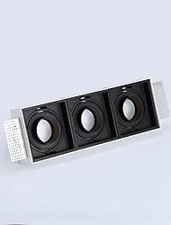 cheap -PUSHENG 3-Light 9.7 cm Flush Mount Spot Light Aluminum Geometrical Modern 110-120V / 220-240V