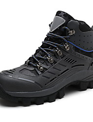 cheap -Men's Comfort Shoes Microfiber Fall Athletic Shoes Hiking Shoes Black / Gray