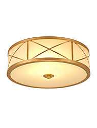 cheap -3-Light 35 cm Flush Mount Lights Metal Glass Traditional / Classic 110-120V / 220-240V / E26 / E27