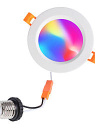 cheap -1pc 10 W 900 lm 12 LED Beads Bluetooth Speaker Dimmable Easy Install LED Downlights Change RGB+Warm RGB+White 100-240 V Ceiling Commercial Home / Office Halloween Christmas