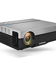 cheap -HoDieng HD26K Full HD Projector Native 1080P 5500 Lumens Video LED LCD Home Cinema Theater HDMI VGA USB TV 3D Beamer T26L T26 T26K