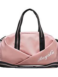 """Недорогие -Жен. Молнии Ткань """"Оксфорд"""" Танцевальная сумка Сплошной цвет Черный / Черно-белый / Розовый"""