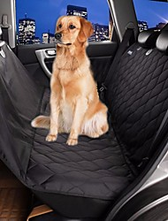 cheap -Pets Dog Car Seat Cover Car Covers Waterproof Portable Oxford Fabric Cotton Black