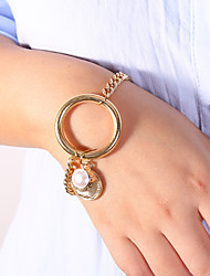 cheap -Women's Vintage Bracelet Earrings / Bracelet Pendant Bracelet Classic Lucky Simple Classic Trendy Fashion Elegant Imitation Pearl Bracelet Jewelry Gold For Gift Daily School Holiday Festival