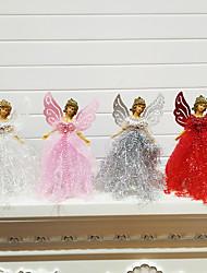 cheap -Christmas Angel Plastic Holiday Decorations Christmas Decorations Christmas Figurines / Christmas Ornaments / Decorative Objects Cartoon / Decorative / Lovely 1pc