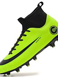 abordables -Homme Chaussures de confort Polyuréthane Printemps Chaussures d'Athlétisme Football Noir / Blanche / Vert