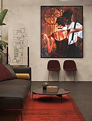 cheap -Framed Art Print Framed Set - People Spiritual PS Oil Painting Wall Art