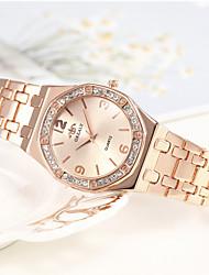 cheap -Women's Quartz Watches Casual Silver Gold Rose Gold Alloy Quartz Rose Gold Gold Silver Cute Analog