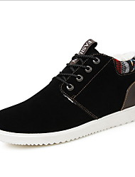 cheap -Men's Comfort Shoes PU Winter Sneakers Black / Yellow / Blue