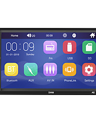 cheap -SWM A6 7 inch 2 DIN Windows CE Car MP5 Player / Car MP4 Player / Car MP3 Player Touch Screen / Built-in Bluetooth / SD / USB Support for universal RCA / HDMI / VGA Support MPEG / MPG / WMV MP3 / WMA