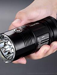 Недорогие -Nitecore TM06S Светодиодные фонари Защита от влаги 3000 lm Светодиодная лампа Cree® XM-L L2 1 излучатели 5 Режим освещения Защита от влаги Фонарик Мигающая LED / Алюминиевый сплав