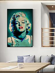 cheap -Framed Art Print Framed Set - People Pop Art PS Oil Painting Wall Art