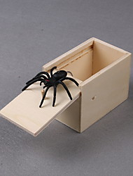 cheap -Practical Joke Gadget Halloween Toys Spider Toys Stress and Anxiety Relief Wooden 1 pcs Kid's Adults All Toy Gift
