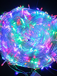 cheap -20m String Lights 200 LEDs 1 set Warm White White Blue Christmas New Year's Waterproof Party Decorative 220-240 V