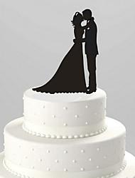 Недорогие -Украшения для торта Классическая пара Акрил Свадьба Годовщина Девичник с 1 Пенополиуретан