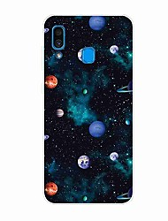 cheap -Case For Samsung Galaxy A50(2019) / J6 Plus 2018 / S10 Plus Pattern Back Cover Planet TPU for A10(2019) / A20(2019) / A40(2019) / S10 / S10 Plus / J4 Plus 2018 / Note 10 Plus