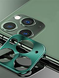 Недорогие -Металлический протектор объектива камеры для Apple iPhone 11/11 Pro / 11 Pro Max высокой четкости (HD)