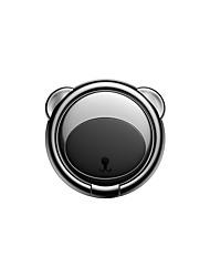 Недорогие -Baseus Bear палец металлическое кольцо ручка подставка подставка черный